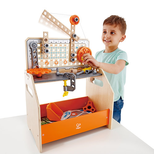 HAPE Junior Inventor Discovery Scientific Workbench by Hape