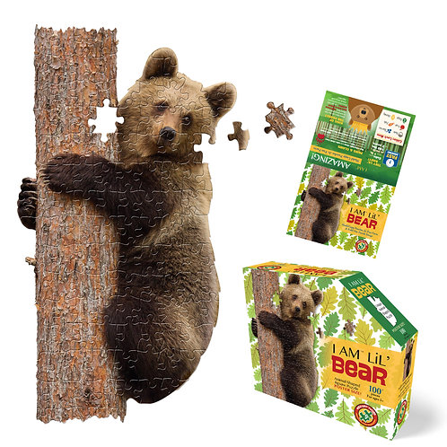Madd Capp Puzzles Jr. I Am Lil' Bear