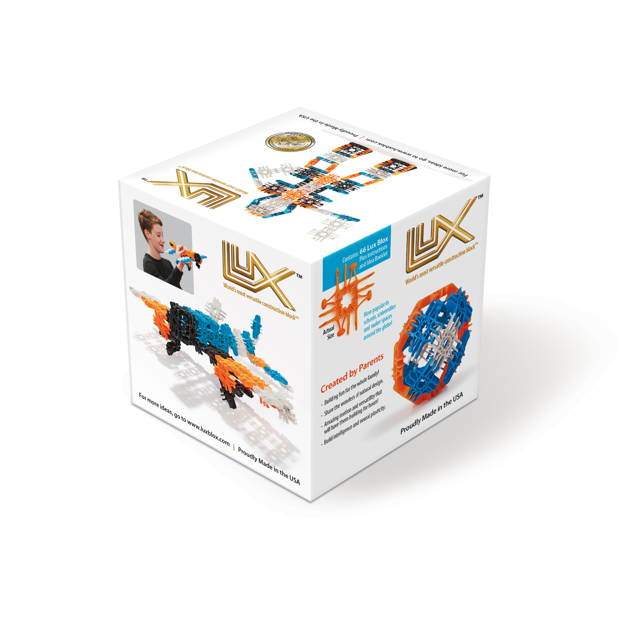 66 Piece Set from Lux Blox