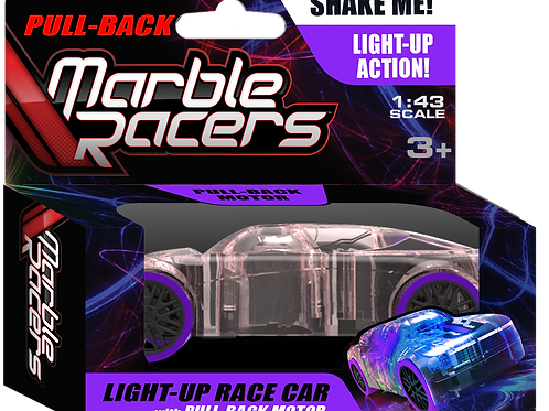 Pull-Back Marble Racers