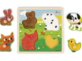 Janod Tactile Puzzle My First Animals
