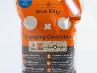 Wee Kitty Clumping Corn Litter