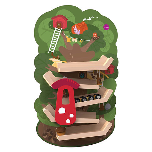 Oribel VertiPlay Wall Toy – Tree Top Adventure
