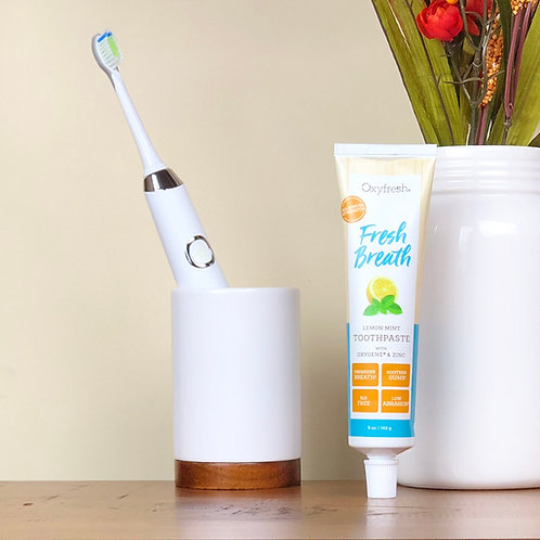 Lemon Mint Toothpaste by Oxyfresh