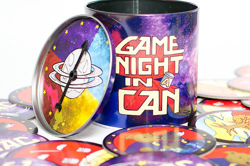 Game Night in a Can by Space Dogs