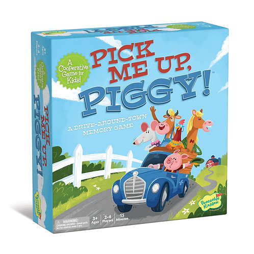 Pick Me Up, Piggy! by Peaceable Kingdom - A MindWare Brand