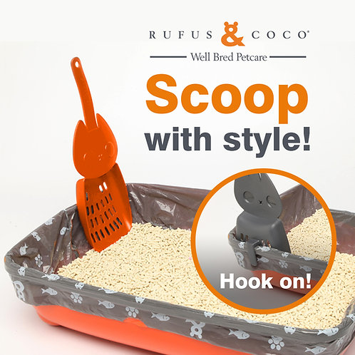Rufus & Coco Coco Hook-On Litter Scoop by Rufus & Coco