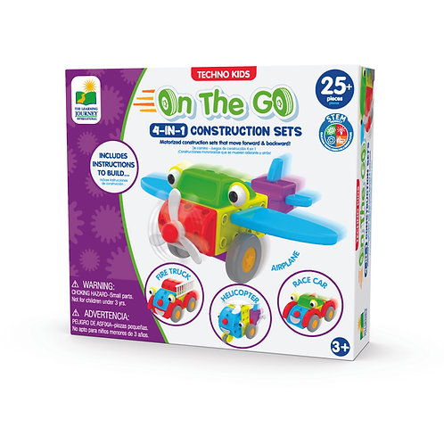 Techno Kids 4-IN-1 On The Go Construction Set