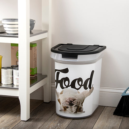 Carlos the Bulldog 26 lb. Pet Food Bin by Advantus Corp.