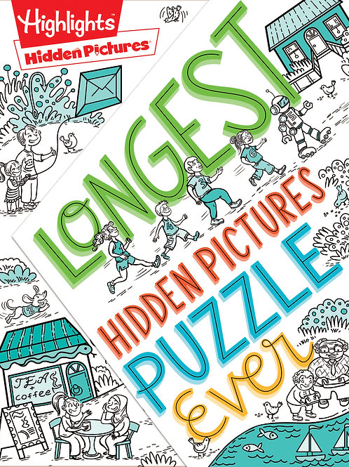 Longest Hidden Pictures® Puzzle Ever by Highlights