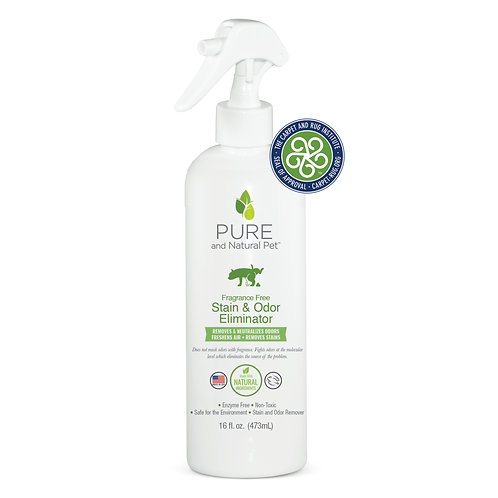 Stain & Odor Eliminator by PURE and Natural Pet