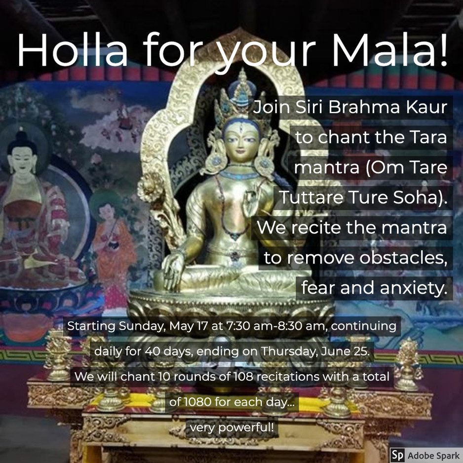 Holla for your Mala!