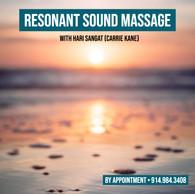 Resonant Sound Massage Session