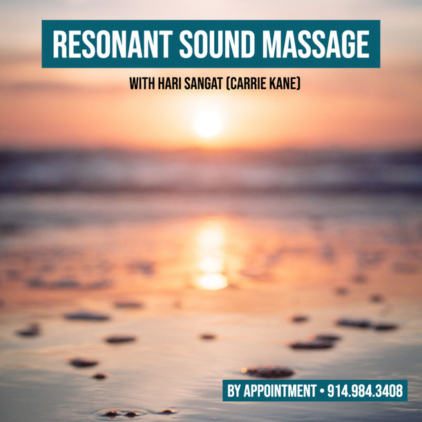 Resonant Sound Massage Session