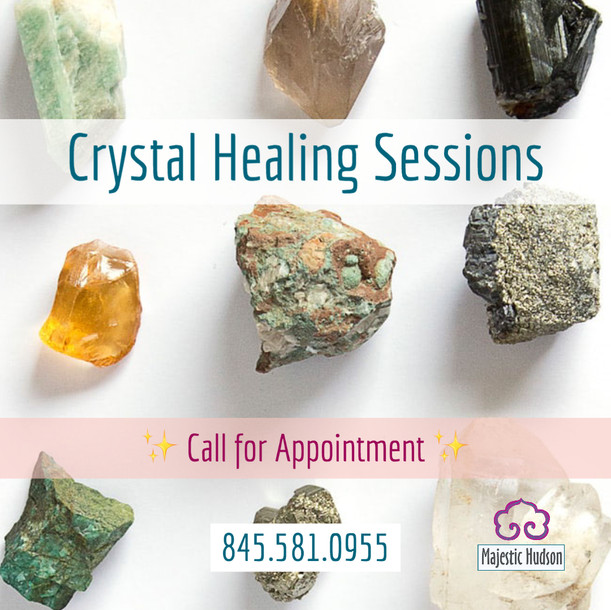 Crystal Healing Sessions
