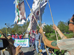 Adian Crp Kites at the All Species Parade
