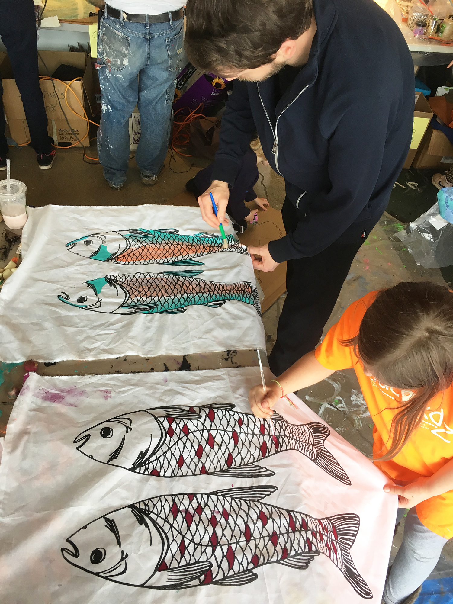 Asian Carp Kite Workshop