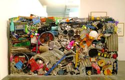 "Matta-Clark's ""Garbage Wall"""