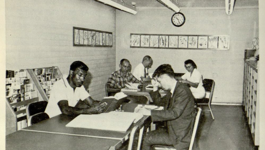 The LA County Arboretum Library, 1964