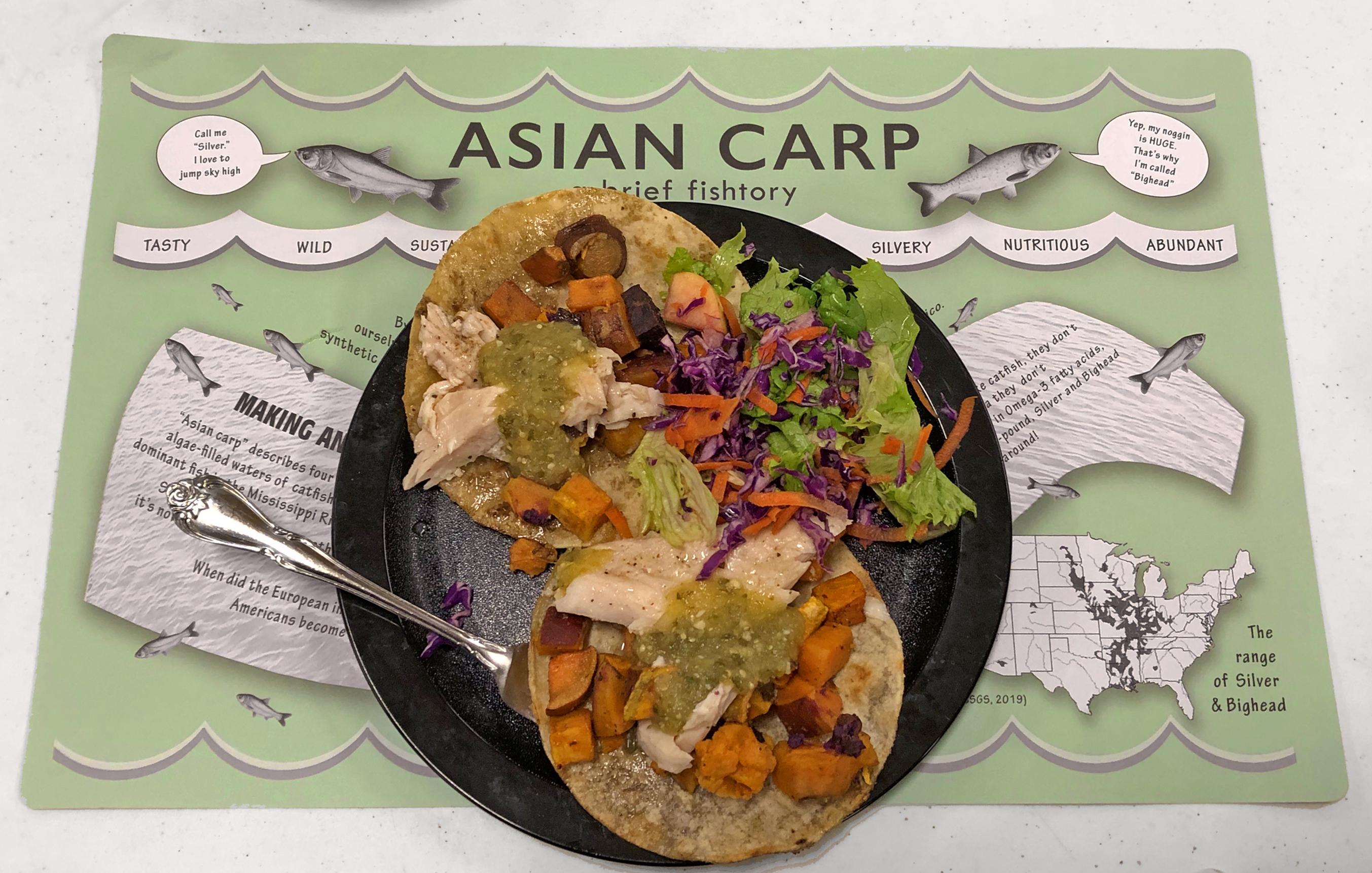 Asian Carp Tacos
