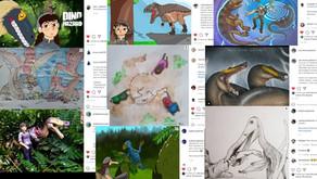 Aqui estão es vencedores do concurso da Dino Hazard Comics!