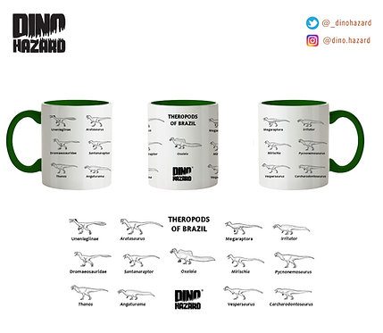 Caneca THEROPODS OF BRAZIL
