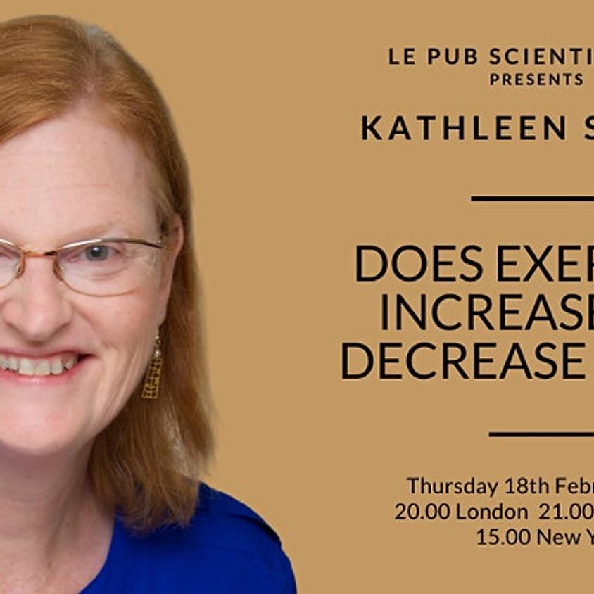 Kathleen Sluka at Le Pub Scientifique