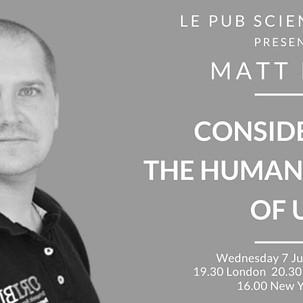 Le Pub Scientifique With Matt Low