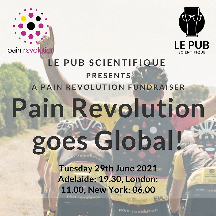 Pain Revolution goes Global