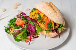 Green Fox Cafe Dublin - Falafel Sandwich