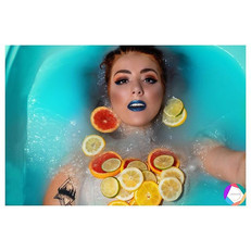 We wish bath water was always this colou