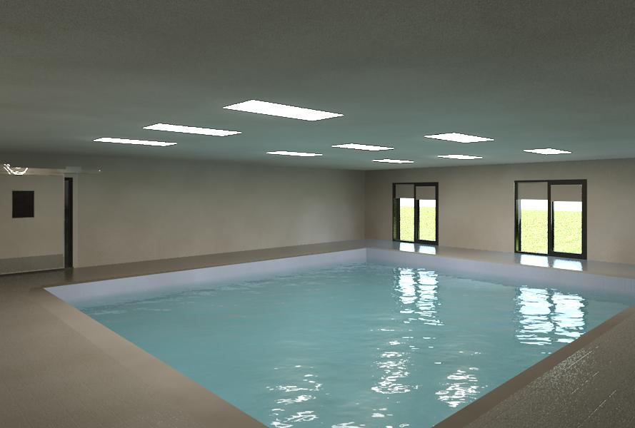 image 3d piscine