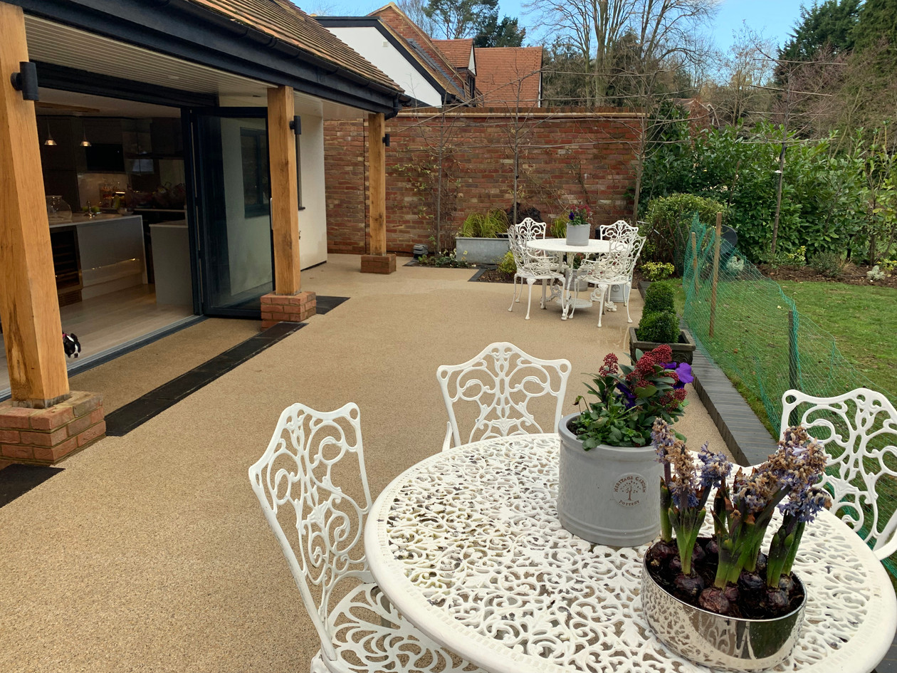 Hertfordshire Resin Patio