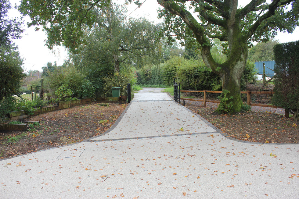 Resin Driveway - after