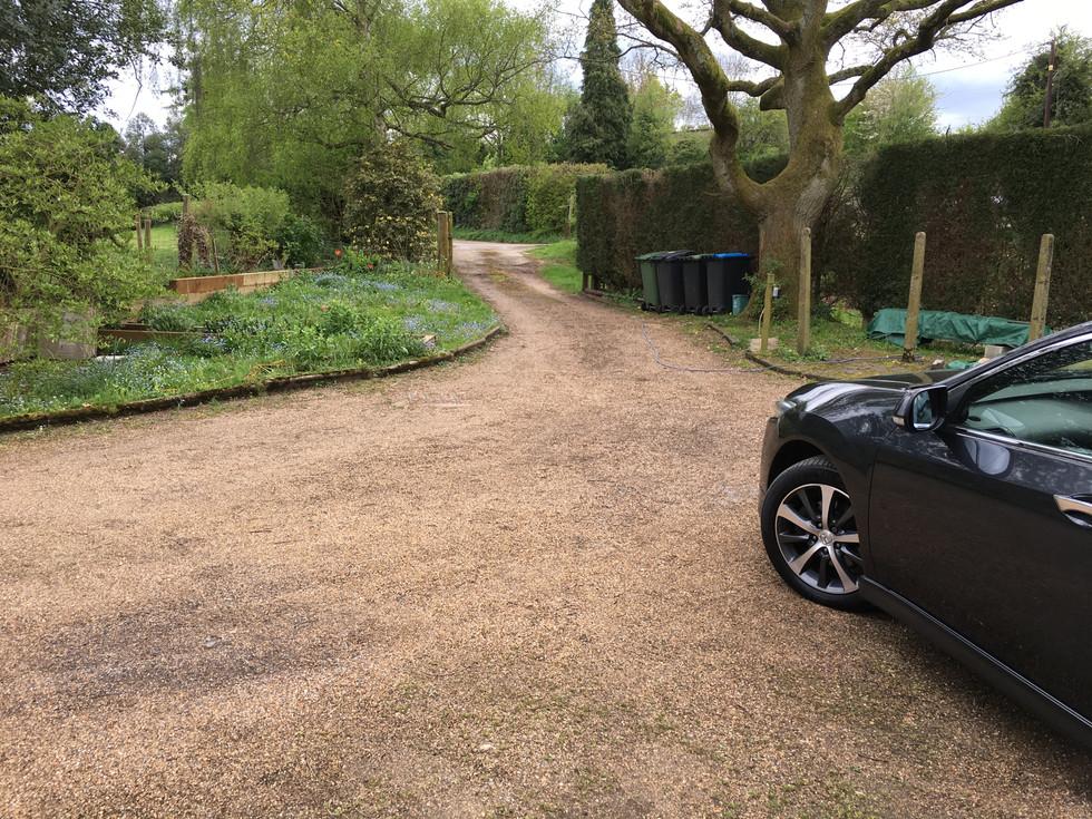 Resin Driveway - before
