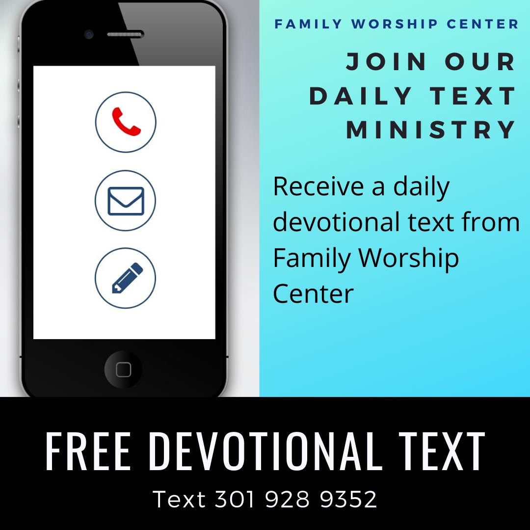 FWC Devotional Text