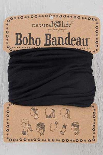 Black Boho Bandeau™