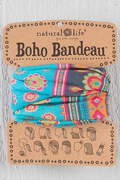 Turquoise Medallion Boho Bandeau™
