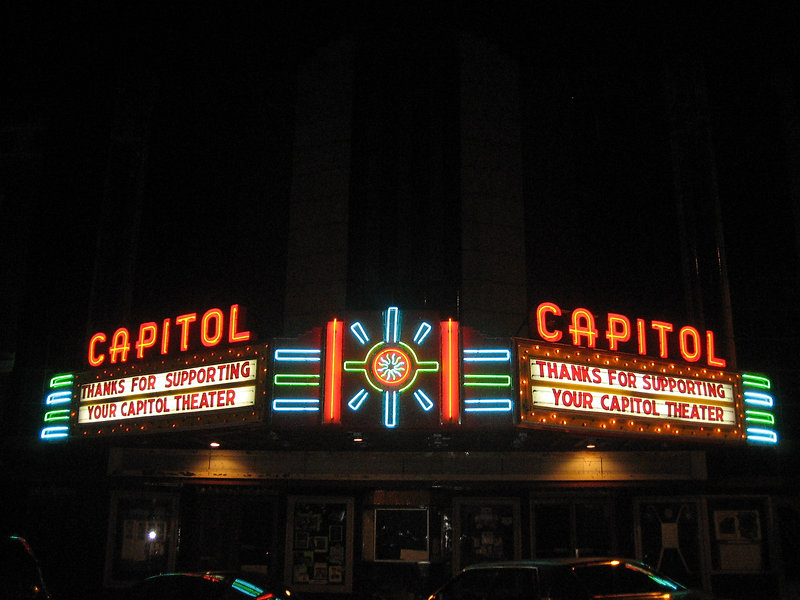 Thanks for supporting your Capitol Theater.