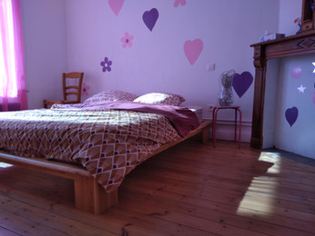 Belle chambre rose
