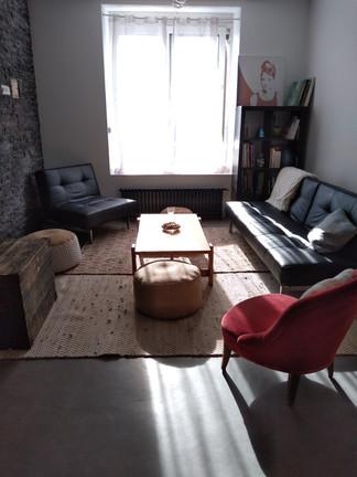 Le salon lumineux