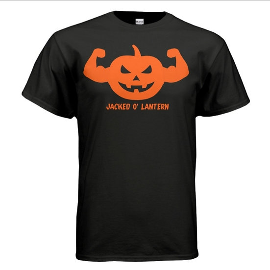 """JACKED O' LANTERN"" Shirt - Black & Orange"