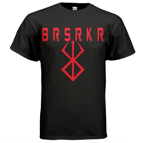 """""""BRSRKR 2"""" Tee - Black & Red"""