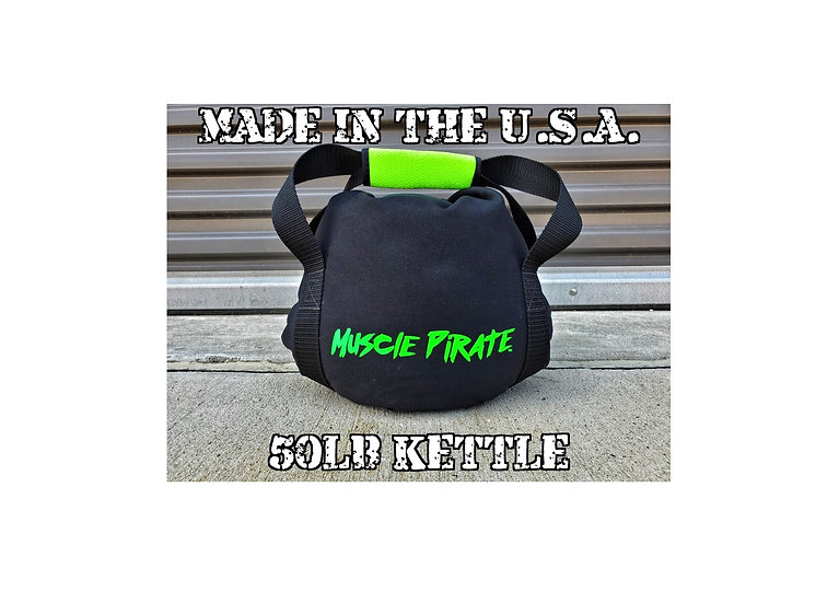 50lb KETTLEBELL by Muscle Pirate