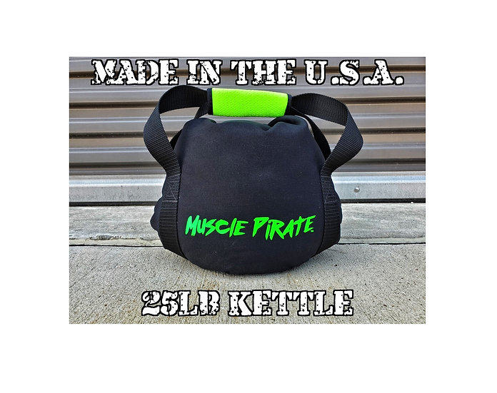 25lb KETTLEBELL by Muscle Pirate