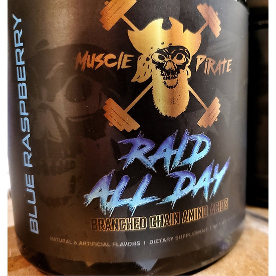RAID ALL DAY BCAAs by MUSCLE PIRATE