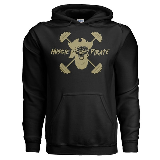 "MP's ""BLACK GOLD"" Hoodie - Black & Gold"