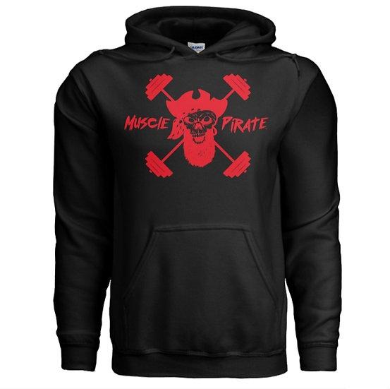 """MP's """"BLACK GOLD"""" Hoodie - Black & Red"""