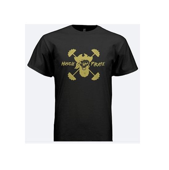 """MP's """"BLACK GOLD"""" Shirt - Black & Gold"""