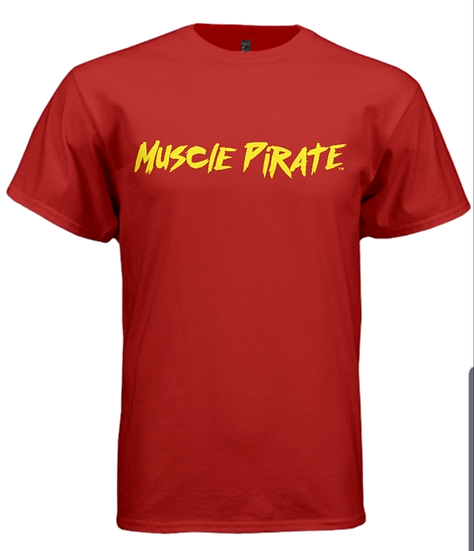 "MP's ""BLACK FLAG"" Shirt - Red & Yellow"